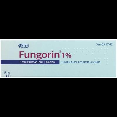 FUNGORIN 1 % emuls voide 15 g