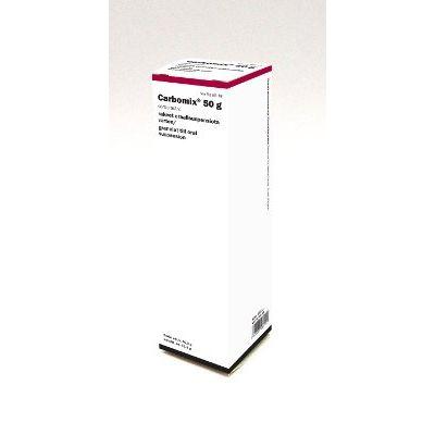 CARBOMIX 50 g/annos rak oraalisusp varten 61,5 g