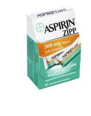 ASPIRIN ZIPP 500 mg rakeet (annospussi)10 kpl