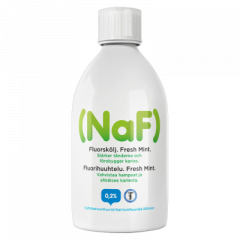 NAF 0,2% FRESH MINT FLUORIHUUHDE X500 ML