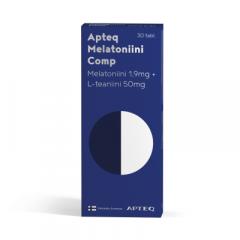Apteq Melatoniini Comp 1,9mg 30 tabl