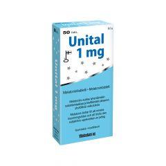 UNITAL 1 MG TABL X50 FOL
