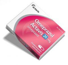 OMEPRAZOL ACTAVIS 20 mg enterokaps, kova 14 fol