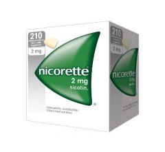 NICORETTE 2 mg lääkepurukumi 210 fol